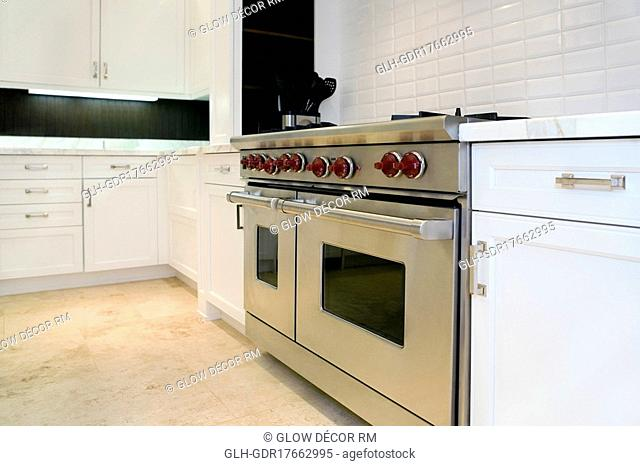 Interiors of a kitchen