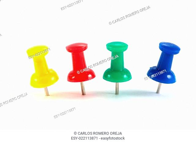 office color pushpins