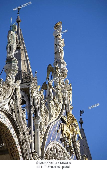 Detail of san Marco basilica, Venice, Italy