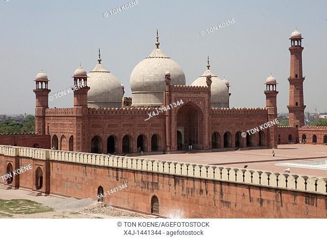 Badshahi Masjid mosque in Lahore
