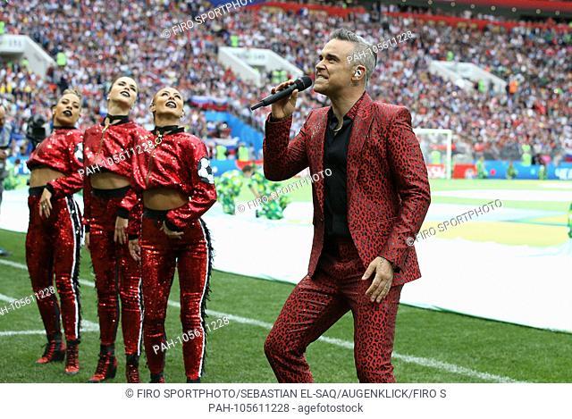 firo: 14.06.2018, Moscow, Football, Soccer, National Team, World Cup 2018 in Russia, Russia, World Cup 2018 in Russia, Russia, World Cup 2018 Russia, Russia