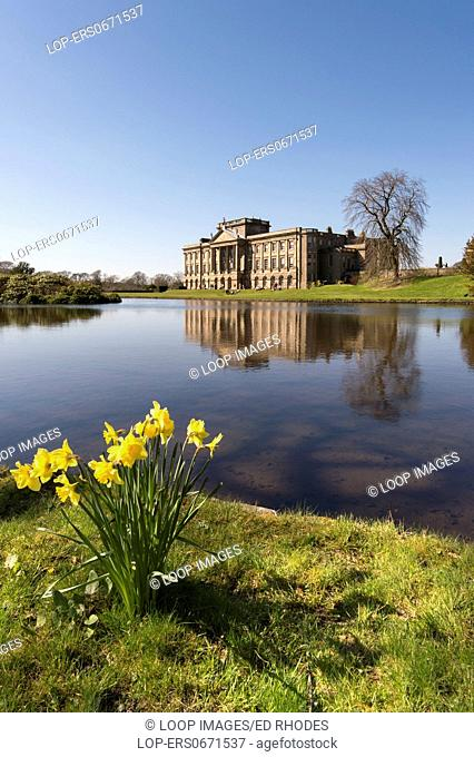 Spring at Lyme Hall in Lyme Park
