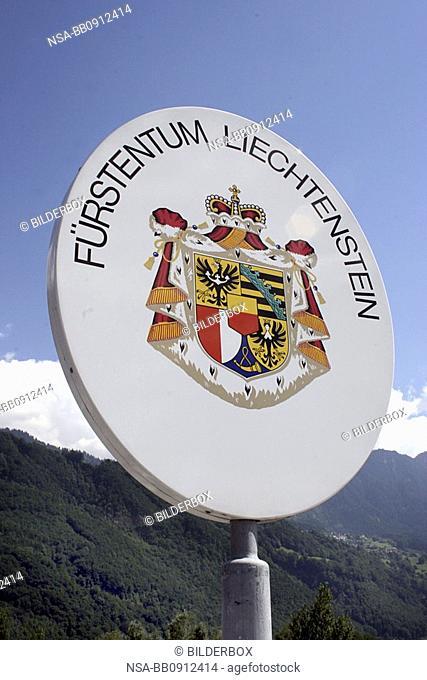Border Liechtenstein