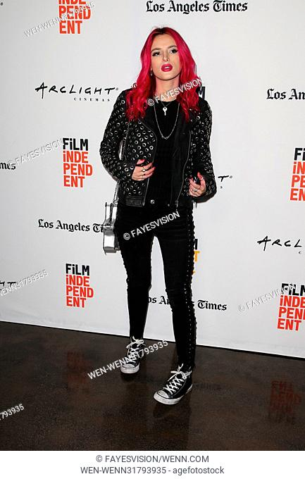 2017 Los Angeles Film Festival Screening Of 'You Get Me' Featuring: Bella Thorne Where: Santa Monica, California, United States When: 19 Jun 2017 Credit:...