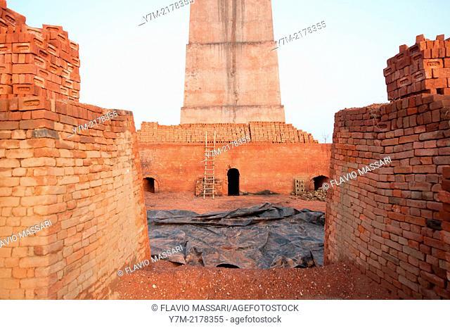 India: Punjab: Brick Factory