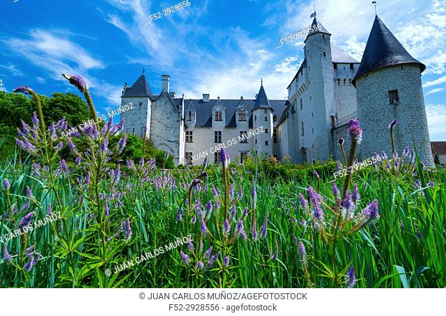 Rivau Castle, Lémeré, Indre-et-Loire Department, The Loire Valley, France, Europe