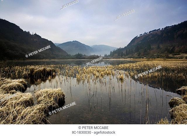 Lower Lake, Glendalough, County Wicklow, Ireland, Lake Scenic