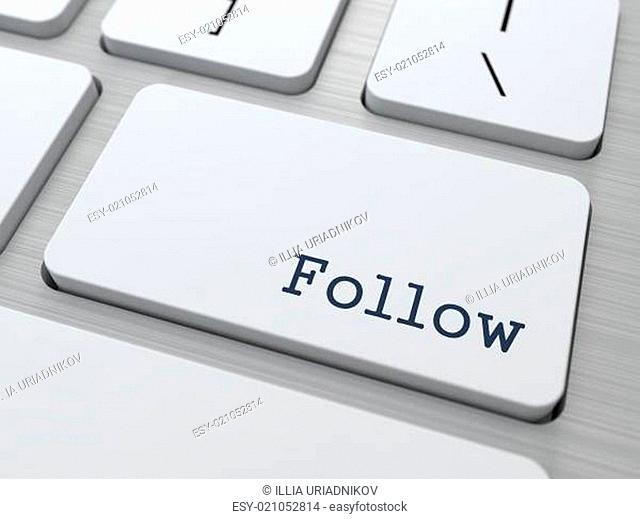 Follow - Button on Keyboard