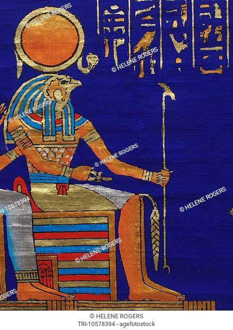 Egypt Papyrus Ra-Harakhte