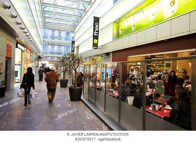 San Martin shopping mall, Donostia, San Sebastian, Gipuzkoa, Basque Country, Spain
