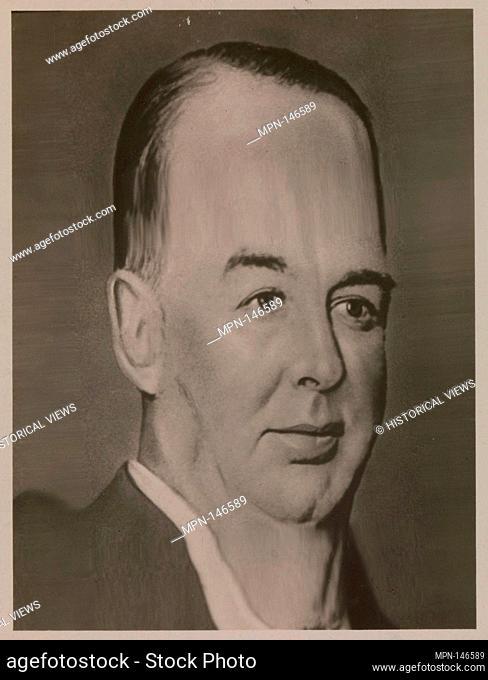 [Distortograph: William Hale Big Bill Thompson, Mayor of Chicago]. Artist: Herbert George Ponting (British, Salisbury, Wiltshire 1870-1935 London); Person in...
