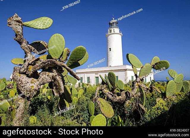 La Mola Lighthouse, Formentera, Pitiusas Islands, Balearic Community, Spain