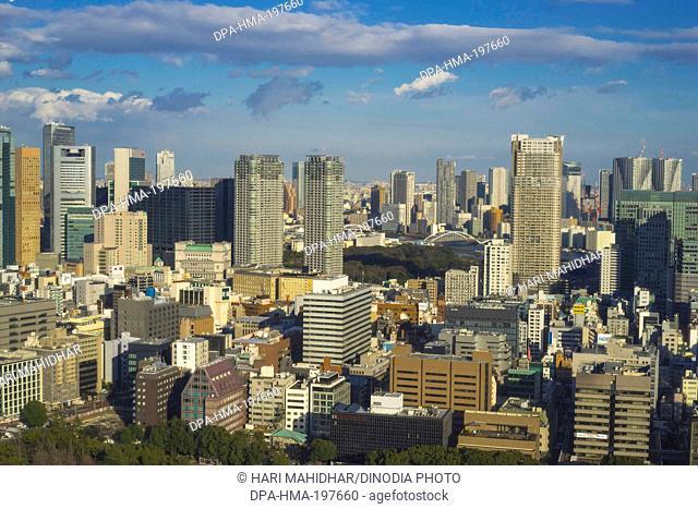 Tokyo town, japan