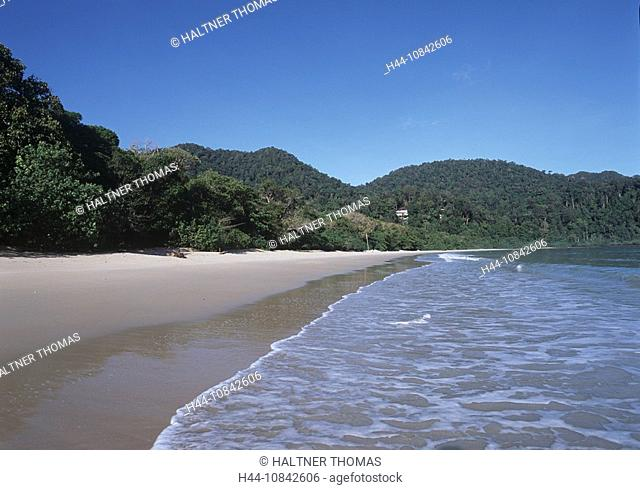 Malaysia, Langkawi island, Southeast Asia, Hotel Andaman beach, sandy beach, sand, coast, sea, Indian ocean, nature, f