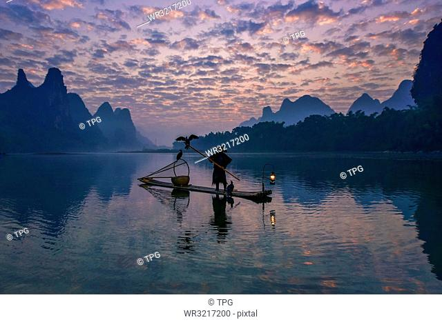 cormorant fisherman;China