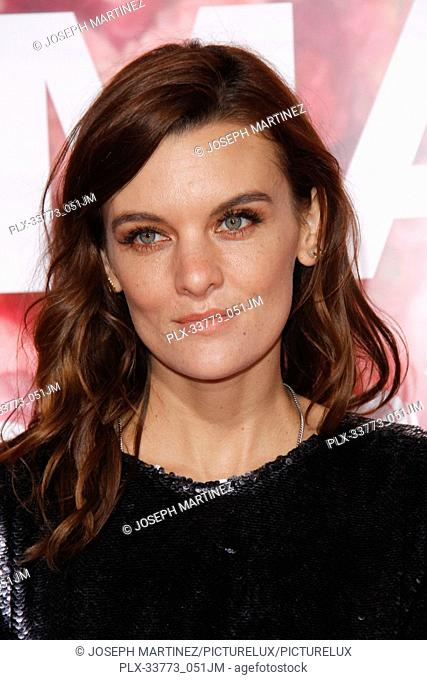"""Frankie Shaw at Warner Bros. Pictures' """"""""Isn't It Romantic"""""""" Premiere held at The Ace Hotel in Los Angeles, CA, February 11, 2019"""