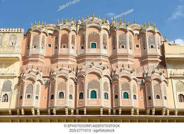 Hawa Mahal, Palace of winds, Jaipur, Rajasthan, India