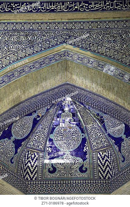 Uzbekistan, Khiva, Mohammed Amin Khan Madrassa, Orient Star Hotel,