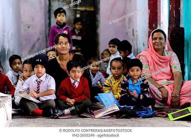 School in Bundi, Rajasthan