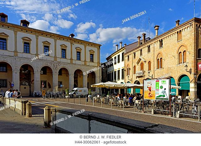 Europe, Italy, Veneto Veneto, Padua, Padova, Piazza Duomo, Palazzo del Monte di Pietá, architecture, building, palaces, place of interest, tourism