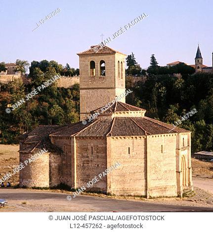 Templar church of the Vera Cruz. Segovia province, Castilla-León, Spain