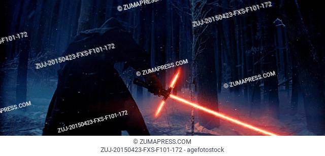April 23, 2015 - Hollywood, USA - STAR WARS: EPISODE VII - THE FORCE AWAKENS (2015).J.J. ABRAMS (DIR)