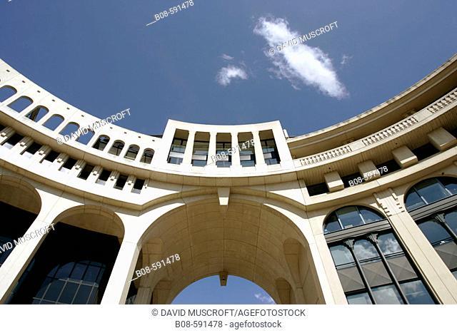 Antigone. Montpellier. France