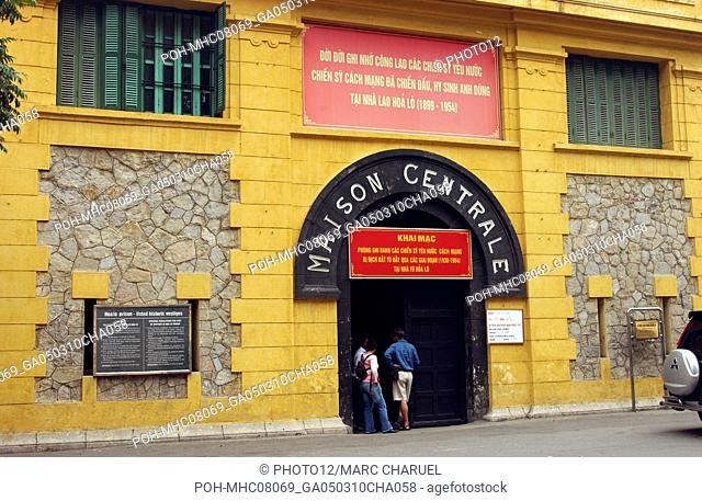 Exterior of a former french prison Hoa lo built in 1896 and transformed from 1964 into a detention centre for american pilots captured in northern Vietnam 2005