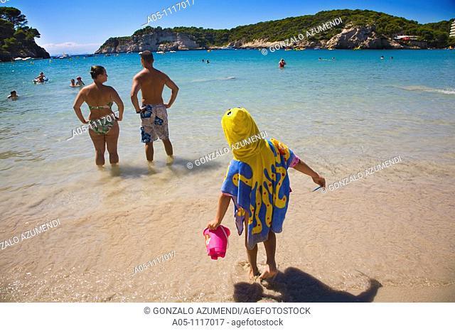Cala Galdana. Minorca. Balearic Islands. Spain