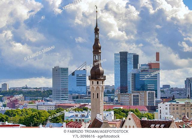 Tallinâ. . s Skyline, Tallinn, Estonia