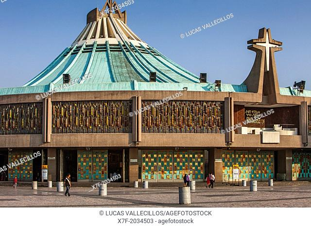 New Basilica Our Lady of Guadalupe, Mexico City, Mexico