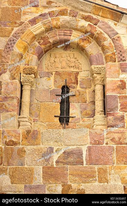 Zamora city, San Cipriano church (romanesque 11-13th centuries). Castilla y Leon, Spain