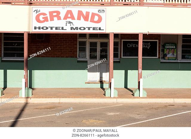 Grand Hotel and Motel, Mount Magnet Western Australia
