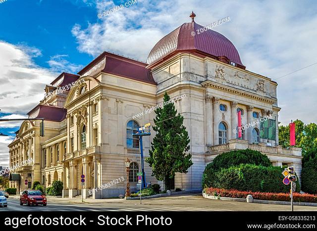 Exterior of Graz Opera House, Austria