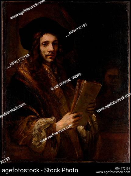 Portrait of a Man (The Auctioneer). Artist: Follower of Rembrandt (Dutch, third quarter 17th century); Date: probably ca