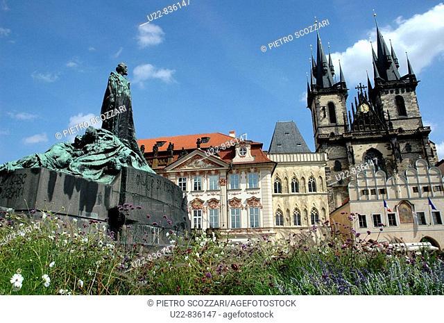 Prague Czech Republic, Staromestske namesti