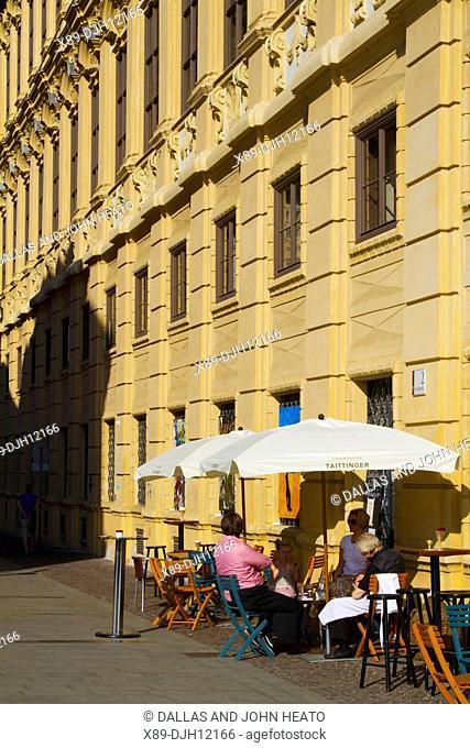 Austria, Styria, Graz, Schlossbergplatz, Restaurant
