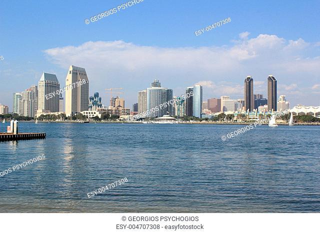 San Diego downtown-1, view from Coronado Island