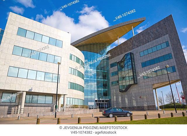 Atradius headquarters. Harbour Drive. Capital Waterside. Cardiff Bay. Cardiff. South Glamorgan. Wales. UK
