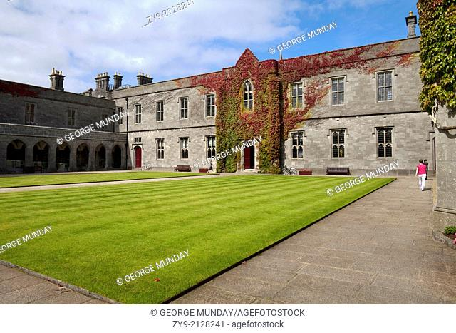The Quadrangle or Aula Maxima, home to a multitude of intra-collegiate and cultural events at Galway University,