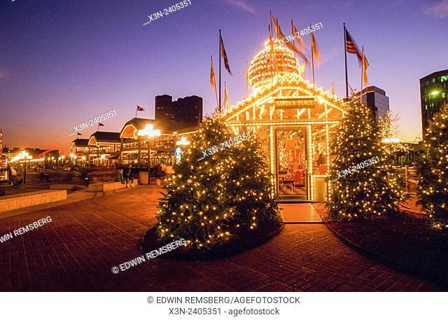 Santa's Place at Harborplace