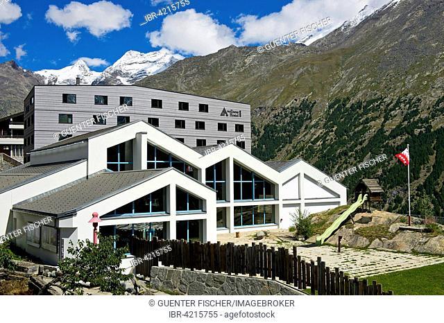 Youth hostel, wellnessHostel4000, Saas-Fee, Canton of Valais, Switzerland