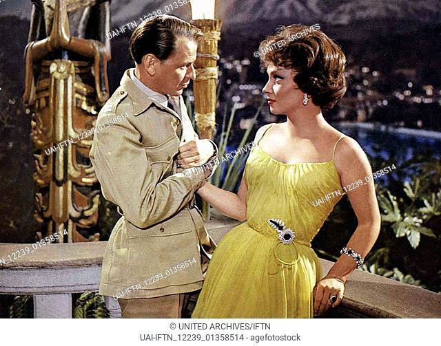 Wenn das Blut kocht aka. Never So Few, USA 1959 Director: John Sturges Actors/Stars: Frank Sinatra, Gina Lollobrigida, Peter Lawford