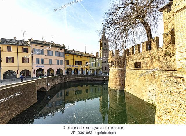 Sanvitale Castle, Fontanellato village, Parma district, Emilia Romagna, Italy