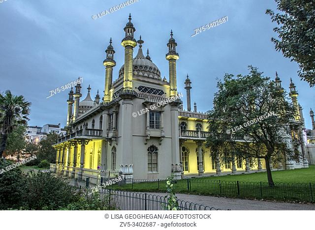 Royal Pavillion in Brighton, East Sussex, England