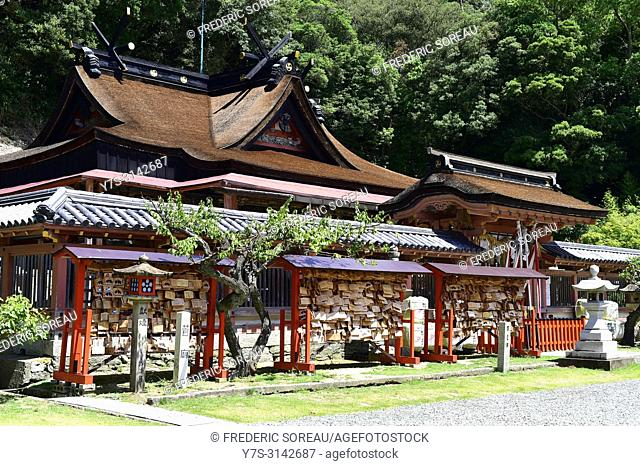 Wakaura Tenmangu Shrine in Wakayama,Japan,Asia