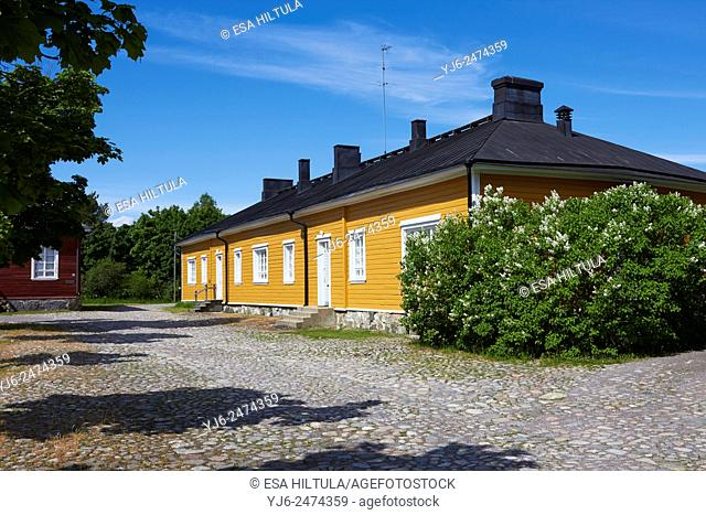 Old building at the Fortress of Lappeenranta