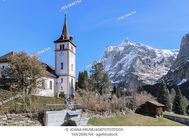 Grindelwald, Berner Oberland, Berne, Switzerland, Europe