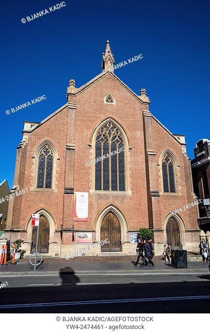 King Street, Mission Church, Newtown, Sydney, Australia