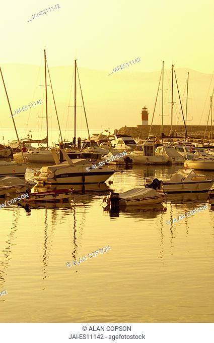 Sanxenxo Harbour, Rias Baixas, Pontevedra Province, Galicia Spain